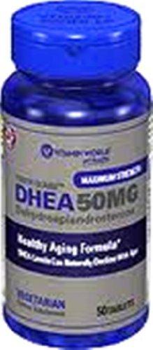 Vitamin World DHEA 50mg 50 Tablets