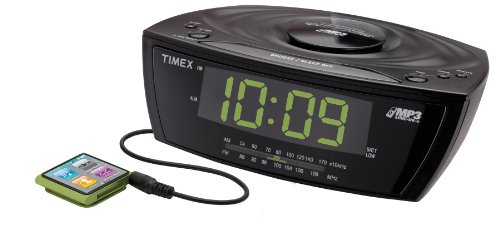Timex T227BQ3 Large Display Alarm Clock Radio with MP3 Line-
