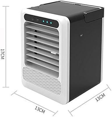 Aire acondicionado USB Ventilador pequeño Chiller Dormitorio hogar ...