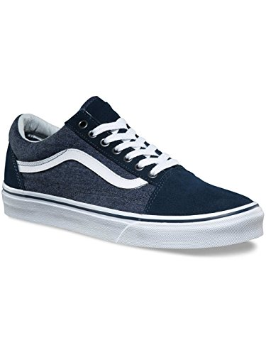 Bleu Dress Sneakers Vans Blue Homme Basses FxCBqqH0