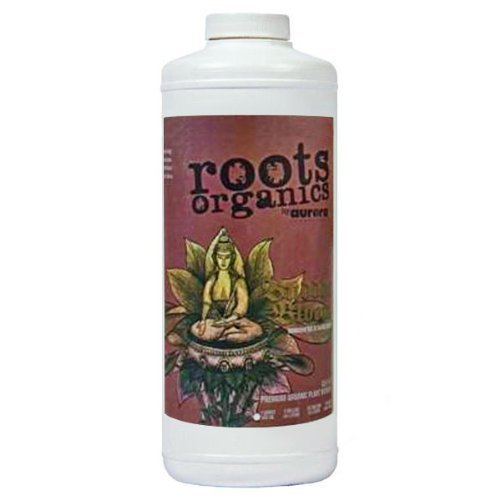 Soil Organic Fertilizers (Roots Organics ROBBQ Buddha Bloom Fertilizer, 1 Quart)
