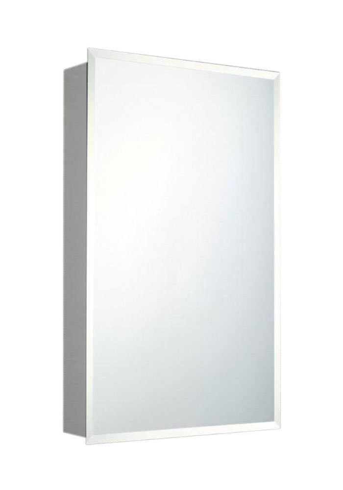 Ketcham Cabinets Deluxe Series Surface Mounted Medicine Cabinet Beveled Edge Mirror 24''X30''