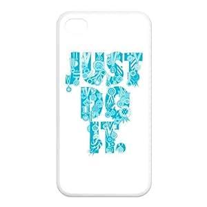 Custom Just Do It Back Cover Case for iPhone 4 4S GP-3474 WANGJING JINDA