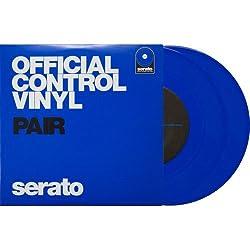 Serato SCV-PS-BLU-7 7-inch Control Vinyl Blue Pair by Serato