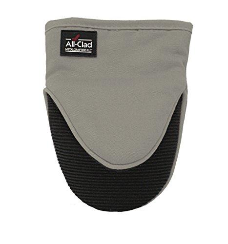 All-Clad Textiles Professional Silicone Grabber Mitt, Titanium