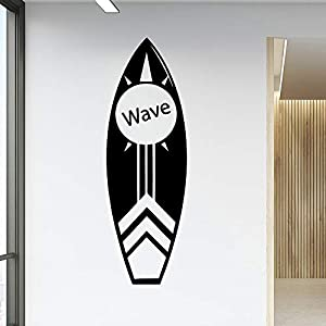 Wall Stickers, Wall Decals, Wall Paintings, Wall Tattoos, Wall Posters,Creative Wave Skateboard Vinyl Wallpaper Roll Furniture Decorative PVC Wall Decals Home Decoration Wallpaper
