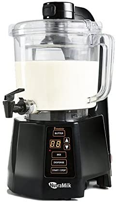 nutra Milk Vegan nogal nuez de leche mantequilla aufbereiter ...