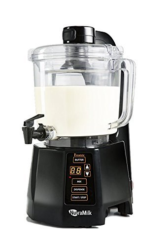 nutra Milk Vegan nogal nuez de leche mantequilla aufbereiter: perfectamente. almendras, CASHEWS,