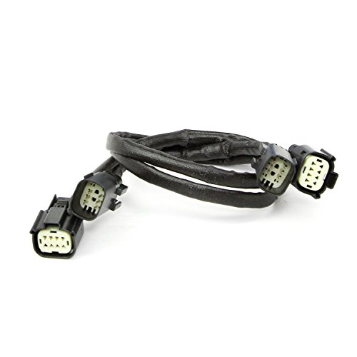 BBK Performance Parts 1111 O2 Sensor Wire Extension Harness OEM Style Factory Connectors 24 in. Length Front Direct Plug In O2 Sensor Wire Extension Harness (Oem Style Wire)