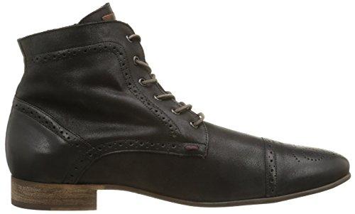 Kost - Botas de cuero para hombre Negro (Noir)