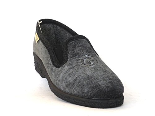 grau Grau Hausschuhe grau Damen GRUNLAND qz6877
