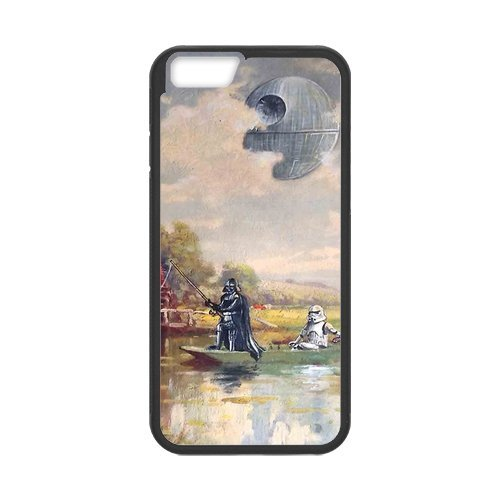 Fayruz- Personalized Protective Hard Textured Rubber Coated Cell Phone Case Cover Compatible with iPhone 6 & iPhone 6S - Star Wars F-i5G1040