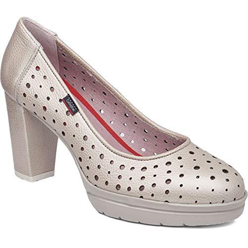 Chaussures À Talons Metal Natural 23710 Callaghan Calzature 85qwxz0