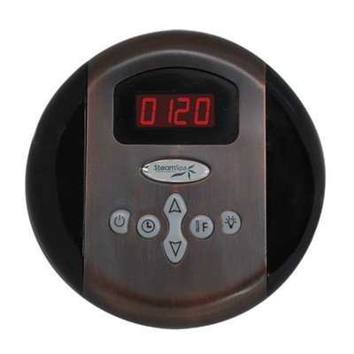 Steam Spa Programmable Control Panel with Time and Temperature Pre-sets by Steam Spa