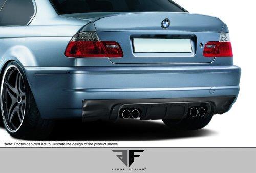 2001-2006 BMW M3 E46 2DR AF-2 Rear Diffuser ( CFP ) - 1 Piece
