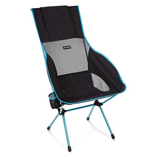 Helinox Savanna Camping Chair 4 poten/benen zwart, blauw