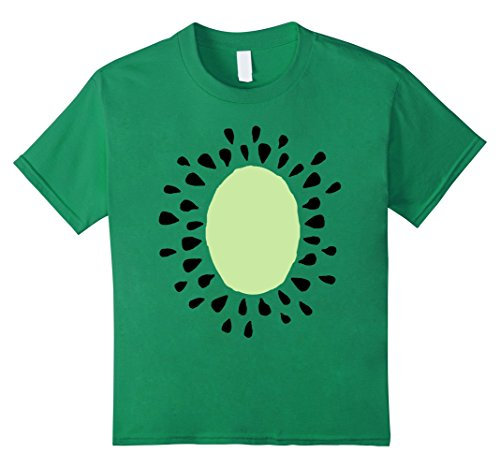unisex-child Kiwi Costume Shirt - Cute Cheap Halloween Costume Fruit Tee 12 Kelly Green - Cute Cheap Halloween Costumes For Girls