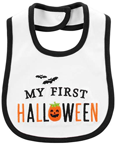 carter's My First Halloween Teething Bib]()