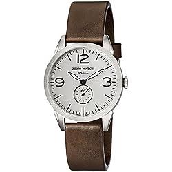 Zeno Men's 4772Q-A3-1 Vintage Line Analog Display Swiss Quartz Brown Watch