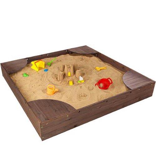 Wooden Childrens Sandbox Wood (KidKraft Backyard Sandbox)