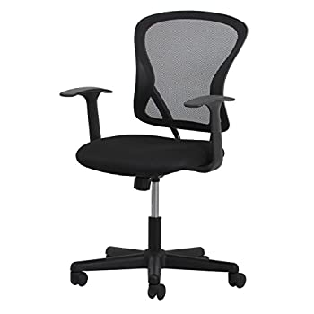 Essentials Swivel Mesh Task Chair With Arms - Ergonomic Computeroffice Chair (Ess-3011) 12