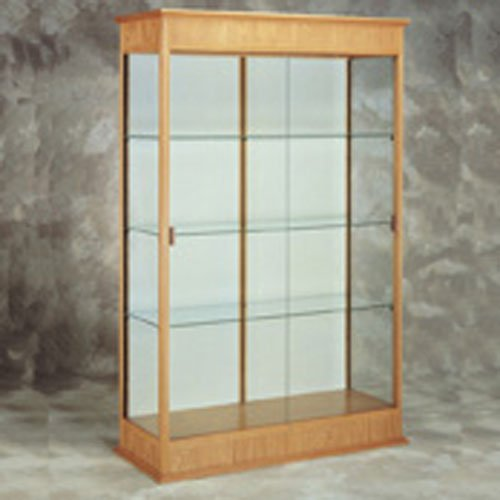 - Varsity 77 in. Elegant Display Case (Cherry Oak)