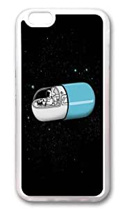 Apple Iphone 6 Case,WENJORS Adorable Space Capsule Soft Case Protective Shell Cell Phone Cover For Apple Iphone 6 (4.7 Inch) - TPU Transparent