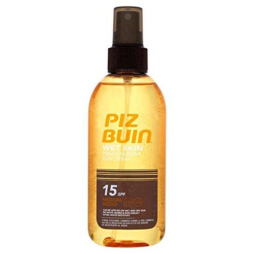 ピッツブーインの湿った透明肌15の150ミリリットル x2 - Piz Buin Wet Transparent Skin SPF15 150ml (Pack of 2) [並行輸入品] B071DQ5FVZ