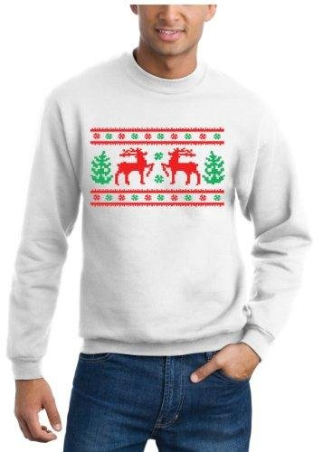 Amazon.com: Ugly Christmas Sweater Design, Original Sweatshirt ...