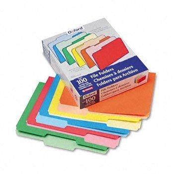 Pendaflex® Colored File Folders FOLDER,FIL,1/3CUT,LTR,AST AVT-75329 (Pack of3) by ESSLTE