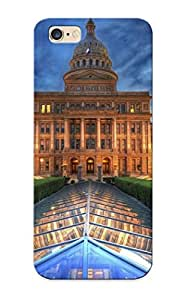 Fashion Tpu Case For Iphone 6 Plus- Texas State Capitol, Austin Defender Case Cover For Lovers
