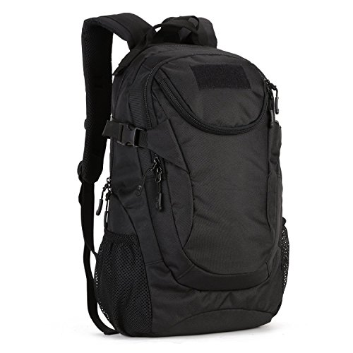 Huntvp 25L Military Backpack Rucksack Gear Water-resistance Tactical Assault Pack Student School Bag for Camping Hunting Trekking Travel