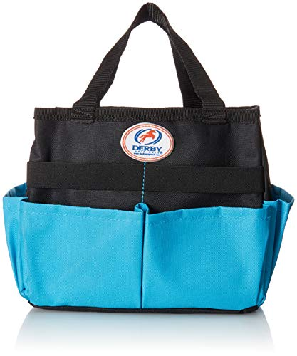 Derby Originals Horse or Dog Grooming Tote Bag Super Sale (Turquoise/Black)