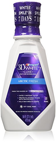 Price comparison product image Crest 3D Arctic Fresh Multi-Care Whitening Rinse, White 16 fl oz (Pack of 2)