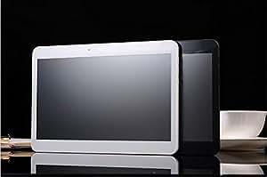 """ARBUYSHOP Nueva 10 """"Tablet PC Android4.4 3G llamada de teléfono mtk6572 de doble núcleo 1G Bluetooth RAM 8G / 16G GPS WiFi Dual SIM Caremas almohadilla envío libre, Negro"""