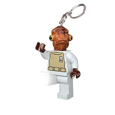 LEGO Star Wars Admiral Ackbar Key Light: Toys & Games