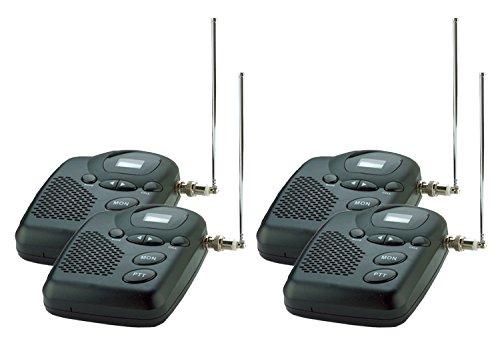 Wireless-Intercom-System-MURS-Long-Range-up-to-4-Miles-Four-Room-Set