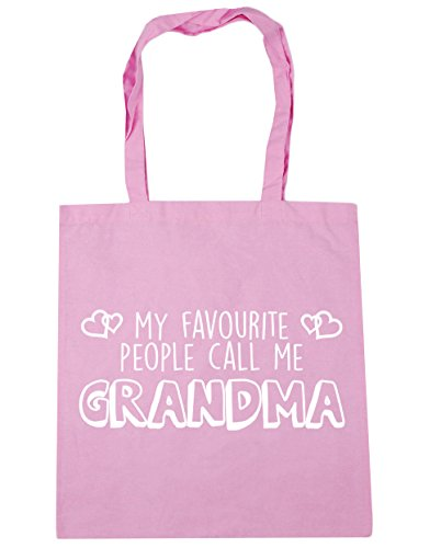 10 42cm Gym Bag Classic Pink litres Shopping Favourite Grandma Call People Me Beach Tote x38cm HippoWarehouse My TqwOHvP