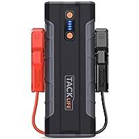 TACKLIFE T8 MAX Booster Batterie - 1000A 20000mAh Portable Jump Starter, Démarrage de Voiture (Toute Essence, jusqu'à 6.5L Diesel), LED Lampe, Deux USB Port, Charge Rapide, UL Certifié