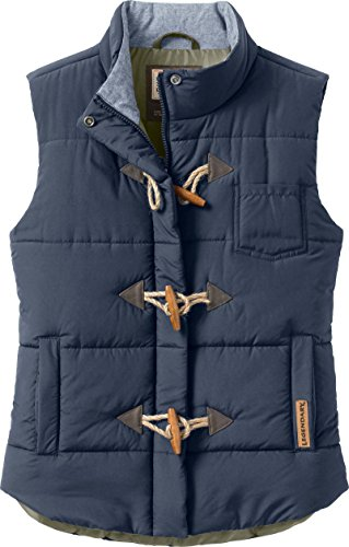 Legendary Whitetails Womens Quilted Vest (Navy, Medium)