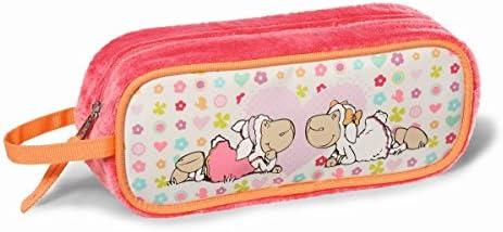 NICI 36349 - Estuche Escolar (N36349) - Portatodo Ovalado Jolly. Amy & Frances: Amazon.es: Juguetes y juegos