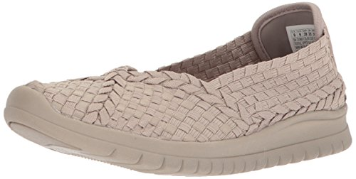 Skechers Bob Da Womens Pureflex3-wonderlove Mary Jane Flat Taupe