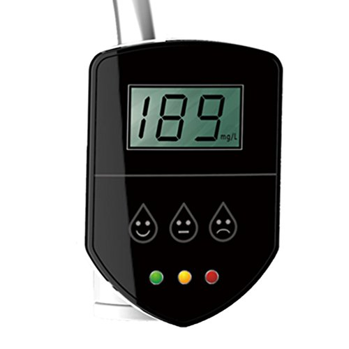 AMTAST Digital RO TDS Meter, Household Water Purifier Water Filter, TDS Monitor, 0-4999ppm Range Readout Accuracy, Lightweight (Battery: Lithium Cell CR2450)