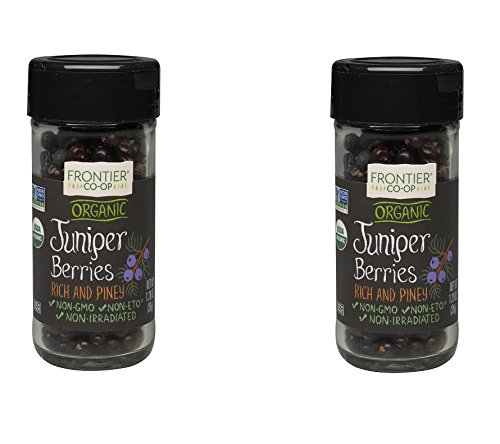 Frontier Natural Products Juniper Berries, Og, Whole, 1.28-Ounce (2 Pack)