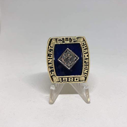 Bob Nystrom New York Islanders High Quality Replica 1980 Stanley Cup Ring Size 11 -Gold Colored