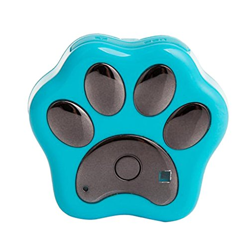Advanced Gps Dog Locator (MonkeyJack 3G GPS Tracker WIFI Waterproof Anti Lost Theft Kids Pets Cat Dog Mobile Phone - Blue)