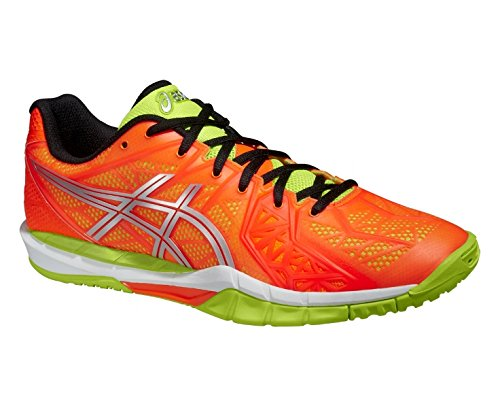 Asics GEL-FIREBLAST 2 FLASH ORANGE/SILVER/FLASH GREEN