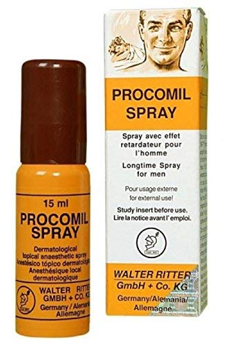 Proconil Delay Spray for Men (And) Punisher Pill Clinically Proven to Help You Last Longer - Better Maximized Sensation 15ml plus love potion pen