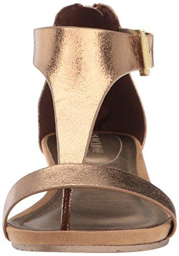 Reazione Kenneth Cole Donna Grande Gal Sandalo Con Zeppa Medaglia Doro