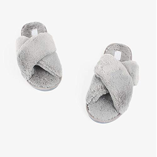 Wool Home Slippers Home Word Cotton Slippers Women A Style Nordic Slippers 5PR68P